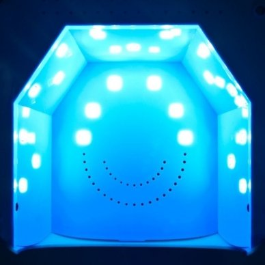 Lempa nagams UV DUAL LED 36W TWISTER, pilkos sp. 2