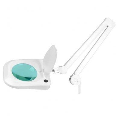 Lempa su lupa ELEGANTE 6015 60 LED SMD 5D, baltos sp. 3