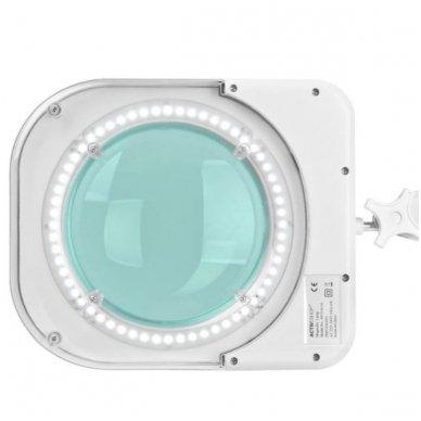 Lempa su lupa ELEGANTE 6015 60 LED SMD 5D, baltos sp. 5