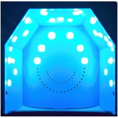 Lempa nagams UV DUAL LED 36W TWISTER, raudonos sp. 3