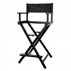 Makiažo kėdė Osom Professional Makeup Chaiк, juodos spю, sulankstoma