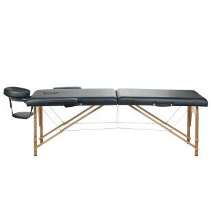 Masažo stalas BS-523, juodos sp.