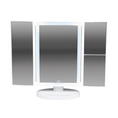 Makiažo veidrodėlis su apšvietimu MC41