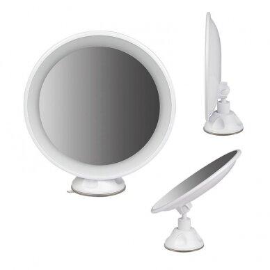 Makiažo veidrodėlis su apšvietimu MC65 3