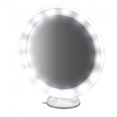 Makiažo veidrodėlis su apšvietimu MC65