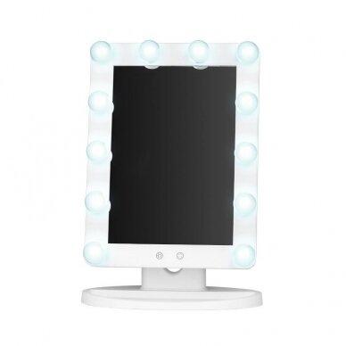 Makiažo veidrodėlis su apšvietimu MC79 5
