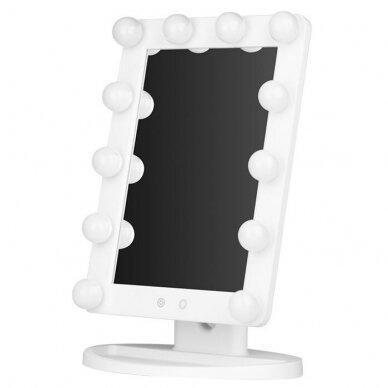 Makiažo veidrodėlis su apšvietimu MC79