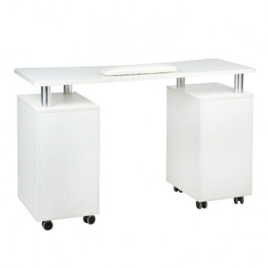 Manikiūro stalas BD-3425, baltos sp. 3