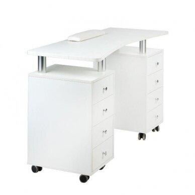 Manikiūro stalas BD-3425, baltos sp. 2