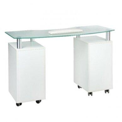 Manikiūro stalas BD-3453, baltos sp. 3