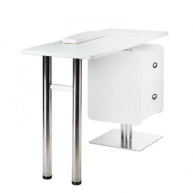 Manikiūro stalas BD-3465, baltos sp. 2