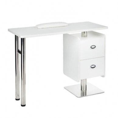 Manikiūro stalas BD-3465, baltos sp.