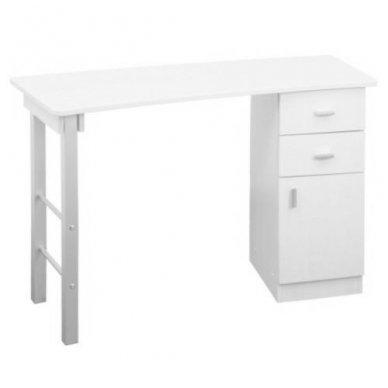 Manikiūro stalas GIOVANNI DM135, baltos sp.
