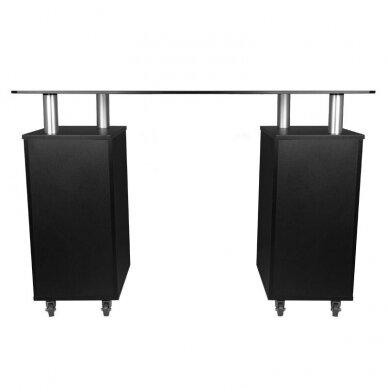 Manikiūro stalas GLASS 317, juodos sp. 3