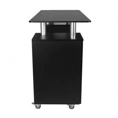 Manikiūro stalas GLASS 317, juodos sp. 4