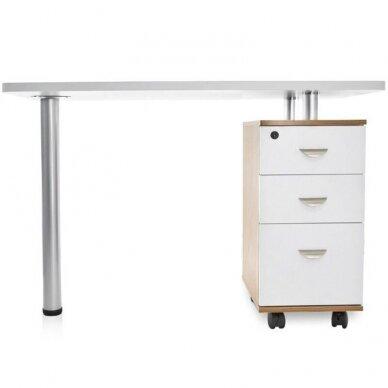 Manikiūro stalas su 3 stalčiais 106678 2