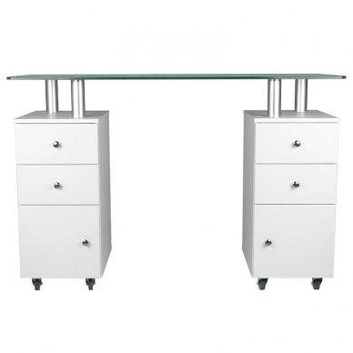 Manikiūros stalas GLASS 317 2