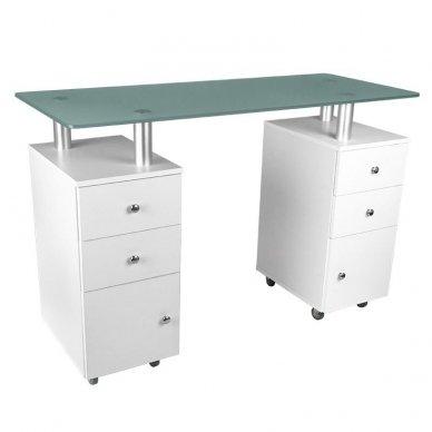 Manikiūros stalas GLASS 317
