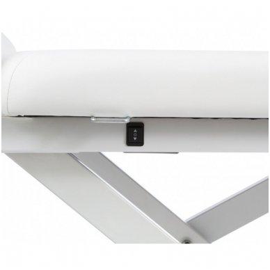 Masažo stalas Weelko Latis, 1 variklis, baltos sp. 2