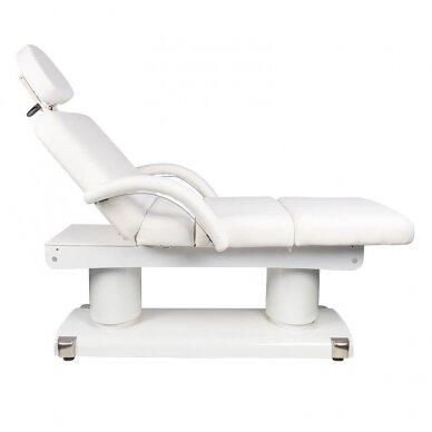 Masažo lova AZZURRO 838A, 4 varikliai, su šildymo funkcija, baltos sp. 9