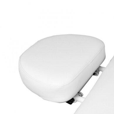 Masažo lova AZZURRO 838A, 4 varikliai, su šildymo funkcija, baltos sp. 2