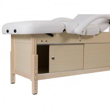 Masažo lova Weelko Caphi, 4 dalių, baltos sp. 2