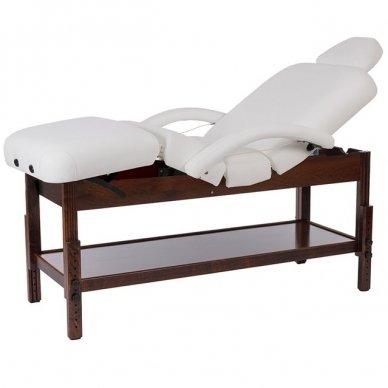 Masažo, SPA lova Weelko Brachi, 4 dalių, juodos sp. bazė