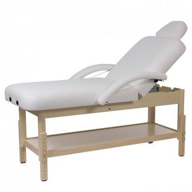 Masažo, SPA lova Weelko LONG, 2 dalių, baltos sp.