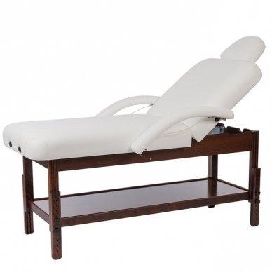 Masažo, SPA lova Weelko LONG, 2 dalių,rudos sp. bazė
