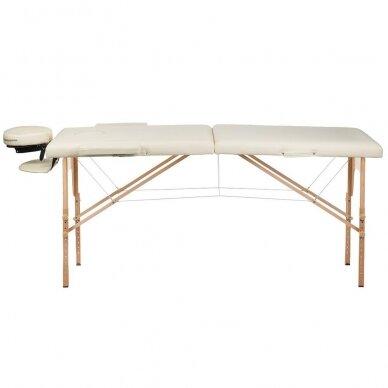 Masažo stalas BS-523, kreminės sp. 3