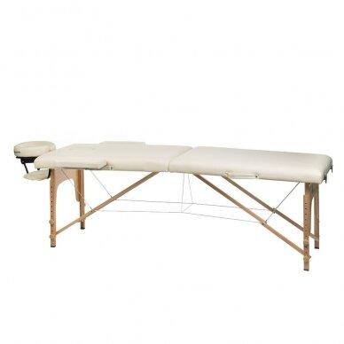Masažo stalas BS-523, kreminės sp. 2