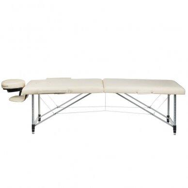 Masažo stalas BS-723, kreminės sp.