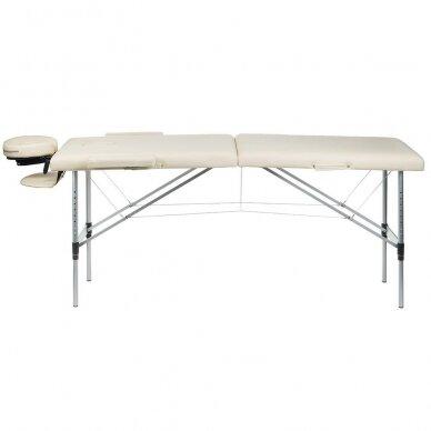 Masažo stalas BS-723, kreminės sp. 3