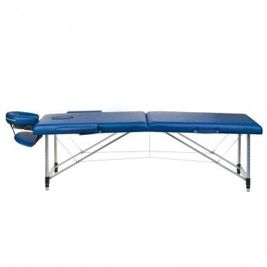 Masažo stalas BS-723, mėlynos sp.