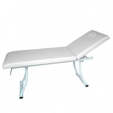Masažo stalas Weelko Dors, 2 dalių, baltos sp.