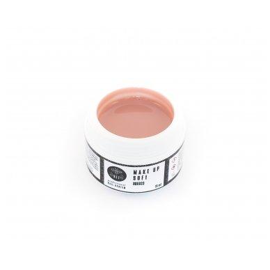 Maskuojantis nagų modeliavimo gelis Make up soft, 50 ml 2