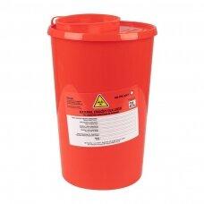Medicininių atliekų konteineris 2,0L