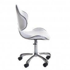Meistro kėdutė BD-9933, baltos sp.