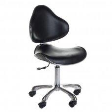 Meistro kėdutė BD-9933, juodos sp.