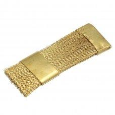 Metalinis šepetėlis frezų ir antgalių valymui