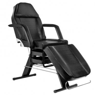 Mechaninis kosmetologinis krėslas A202, juodas 9