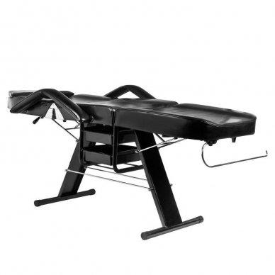 Mechaninis kosmetologinis krėslas A202, juodas 3