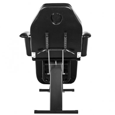 Mechaninis kosmetologinis krėslas A202, juodas 5