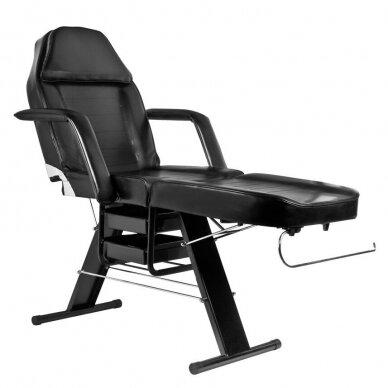 Mechaninis kosmetologinis krėslas BASIC 202, juodos sp. 3