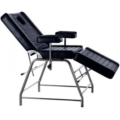 Mechaninis krėslas DP-0236, juodas