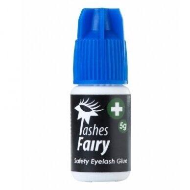 Medicininiai Lashes Fairy Safety blakstienų priauginimo klijai, 5g