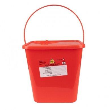 Medicininių atliekų konteineris 5,0L