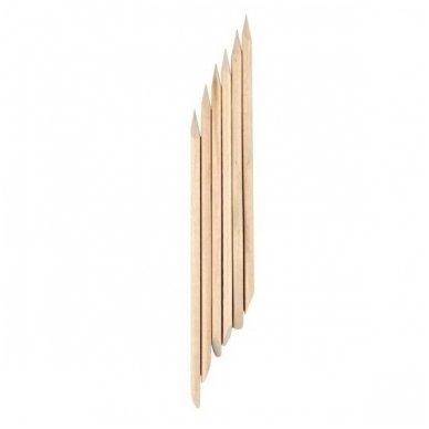 Medinės manikiūro lazdelės, 140mm, 5 vnt