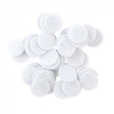 Medvilniniai Mikrodermabrazijos filtrai, maži