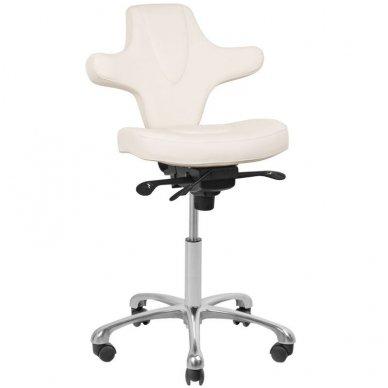Meistro kėdė AZZURRO SPECIAL 052, baltos sp. 7